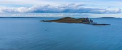 Above the Irish Sea (Wind Watcher) Tags: yellow windwatcher kite dopero howth harbor kap irish sea ireland water