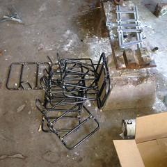Twelve jigged rack platforms (Tysasi) Tags: photostream 10x8 rack os appaloosa huntergatherer 650b 650bifitmatters rackbuilding racks8899