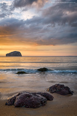 A little bit of Paradise... (Damon Finlay) Tags: nikon d750 nikond750 tamron 2470 f28 tamron2470f28 spring colours natural beauty naturalbeauty east lothian eastlothian seascape seacliff beach seacliffbeach coast rocks water movement watermovement cloud cloudmovement firth forth firthofforth scotland bass rock bassrock north berwick northberwick sunset