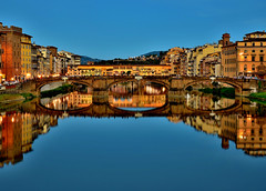 FIRENZE (ala_j22) Tags: firenze florencia reflejos arno pontevecchio italia toscana alarcon bridge puente
