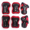 WONFAST 6 Pcs Kid's Skating Roller Wrist Elbow Knee Pads Protective Gear for 3-13 Years Old Black & Red (saidkam29) Tags: black elbow gear kids knee pads protective roller skating wonfast wrist years