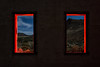picture windows. rhyolite, nv, 2016. (eyetwist) Tags: eyetwistkevinballuff eyetwist windows windowframe landscape view night red rhyolite building ruins goldrush gold mining landmark nevada dark longexposure long exposure startrails star trails fullmoon desert nikon nikond7000 d7000 nikkor capturenx2 1024mmf3545g photography npy nocturne lightpainting flashlight highdesert americana americantypology american typology dead empty wasteland shadows abandoned desolate lonely derelict decay sky dirt nv wideangle 1024mm beatty deathvalley shadow mojavedesert architecture ruin rubble rocks
