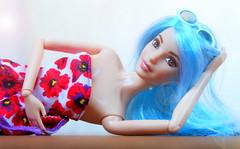 Blue girl (imida73) Tags: barbie fashionista 69 mattel