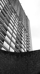 Urban walk 20 May 2017: Lewisham to Mile End 60 (neil mp) Tags: london towerhamlets poplar e14 balfrontower balfron ernőgoldfinger goldfinger modernism brutalism c20soc twentiethcenturysociety brownfieldestate harca londonewcastle blackwalltunnelapproach stleonardsroad andrewstreet blackandwhite bnw monochrome architecture concrete