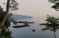 Dawn at Sun Moon Lake,Taiwan. Julia Martin (Photography by Julia Martin) Tags: yuchitownship taiwanprovince taiwan tw photographybyjuliamartin sunmoonlake dawn lake pinksky beautifultaiwan thebestpartoftheday