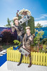 Famous Irish twins Jedward pictured launching the Despicable Me 3 show garden at Bloom in the Phoenix Park, Dublin. Bloom runs from 1st – 5th June. Photo: Anthony Woods