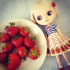 Giant strawberries :D