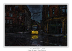 The Morning Tram (Kev Walker ¦ 7 Million Views..Thank You) Tags: architecture building canon1100d canon1855mm citycentre england hdr lancashire northwest outdoor photoart photoborder postprocessing tramlines trams