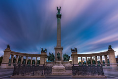 2017.05.25. Budapest (Péter Cseke (mostly OFF until July 23)) Tags: d750 nikon longexposure sky clouds budapest hungary europe statue city cityscape formatt hitech nd firecrest