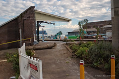 CRW_7108 (mattwardpix) Tags: wickham station wickhamstation newcastle nsw australia 28 may 2017 lightrail train rail demolition demolish demolished matthewward