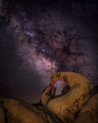 Mobius Arch (mikeSF_) Tags: california big pine bishop alabama hills mobius arch space star stars astro astrophotography sierras white mountains whitney portal bigpine night longexposure mikeoriaphotography wwwmikeoriacom pentax645z