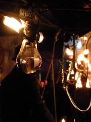 Fire Bulb (failing_angel) Tags: 020916 london southwark bankside tatemodern tate greatfire350 compagniecarabosse firegarden greatfireoflondon