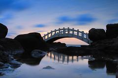 石門拱橋 (Lavender0302) Tags: 夕陽 拱橋 石門情人橋 石門洞 石門 新北市 台灣 taiwan sunset bridge