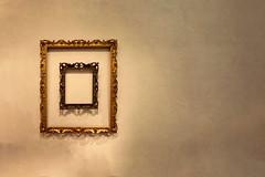 Framed! (WilliamND4) Tags: sliderssunday hss nikon d750 texture frames wall empty