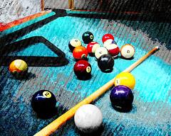 Pool_vs_25_8x10 (takumipark) Tags: billiards art pool artwork pooltable