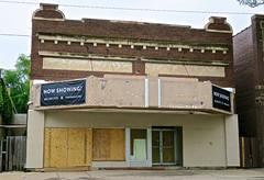 Berkeley Theatre, Omaha, NE (Robby Virus) Tags: omaha nebraska ne marquee abandoned derelict business berkeley theatre theater former cinema now showing