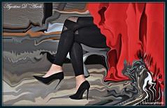 Tacchi a spillo Giugno-2017 (agostinodascoli) Tags: art digitalart creative cianciana sicilia nikon nikkor agostinodascoli photoshop photopainting colore fullcolor digitalpainting rosso gambe donna tacchiaspillo texture painterly