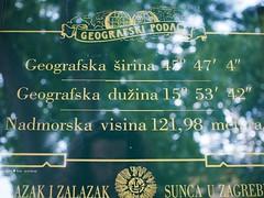 Zagreb longitude