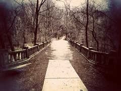 bridging the gap... (HSS) (BillsExplorations) Tags: matthiessenstatepark park bridge stonebridge pathway path illinois illinoisstatepark old bridgingthegap jamesdean life death faith slide sliderssunday snapseed rock starvedrockstatepark