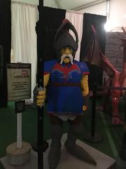 dinos and dragons lego knight (timp37) Tags: lego legos knight legoland bricks brookfield zoo illinois june 2017 statue dinos dragons
