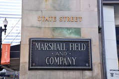 4-005 Marshall Fields Sign (megatti) Tags: chicago departmentstore il illinois macys marshallfields plaque sign