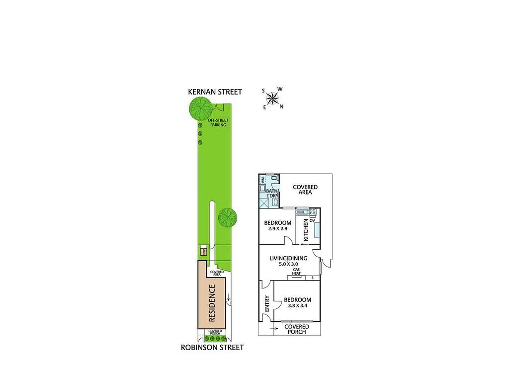 59 Robinson Street floorplan