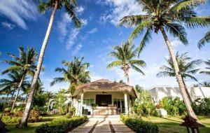Thailand, Hua Hin / Pranburi: Bungalows mit großer Dachterrasse am idyllischen Dolphin Bay, ca. 30 km von Hua Hin, Finanzierung von bis zu 85 % durch Bauträger!