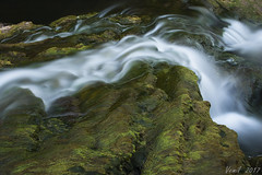 wavelet (emilvlajic) Tags: wavelet abstract photoart water stream river nature longexposure monochrome waterfalls