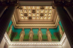 the girls (primemundo) Tags: fiatlux corinthianhall philadelphia masonictemple corinthian greek roman lights masonic odc etheral grandlodge 1873 georgeherzog historic nationalhistoriclandmark