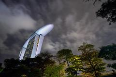 AT-AT Walker (Lemuel Montejo) Tags: starwars allterrainarmoredtransport walker walk building singapore singapura sg marinabaysands night longexposure city architecture