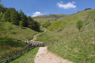 Gateway to Kinder, Peak District National Park, Derbyshire, England.