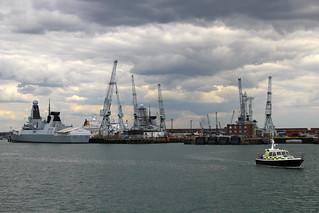 Royal Navy Dockyard, Portsmouth Harbour, April 27th 2015