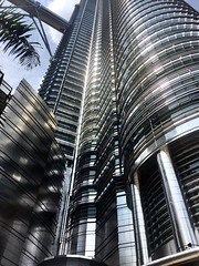 Architectural Detail (∆nil Jethwa) Tags: iphone6 beauty iconic curtainwall facade details curves stainlesssteel malaysia kualalumpur towers twin petronas