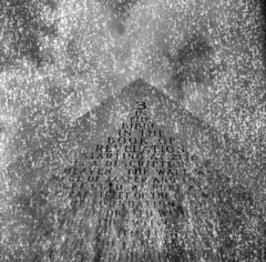 The Book of Revelation #2 (LowerDarnley) Tags: browniehawkeyeflash kodak 620film expiredfilm dandipan barre vermont pyramid bible biblical text bookofrevelation flippedlens