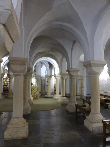 Crypt, Worcester Cathedral
