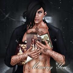 Missing You (Lucifer PureBlood Belmont) Tags: lucifer memories photograph second love sorrow pain fantasy vampire devil