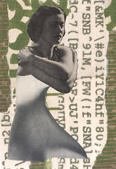 small waisted - started by Sabine Remy finished by me (kurberry) Tags: collage analogue vintageephemera cutpaste sabineremy collaboration collagecollaboration