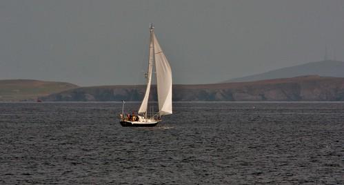 yacht grutnessvoe