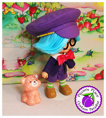 Custom Plum Puddin Boy Doll 22 (Plum's Place) Tags: plum puddin plumpudding plumpuddin strawberryshortcake shortcake ooakdoll customdoll 80stoy 80sretro