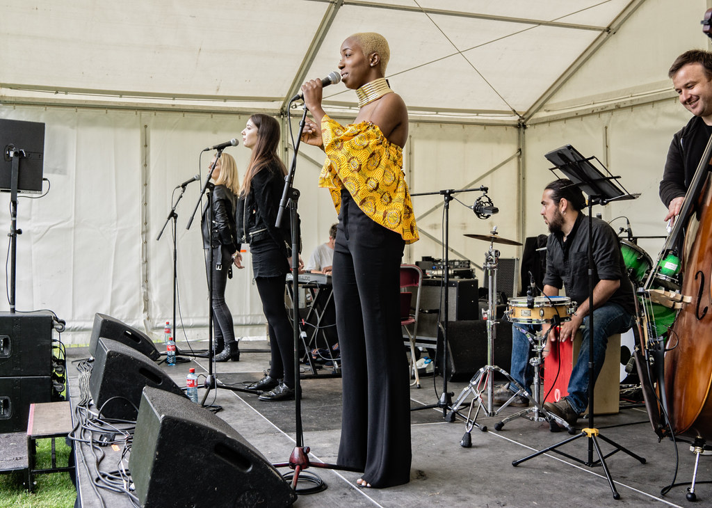 NC GREY IS A SOUL SINGER SONGWRITER [SHE PERFORMED AGAIN AT AFRICA DAY IN DUBLIN]-128591