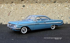 1961 Chevrolet Impala Hardtop Sport Coupe (JCarnutz) Tags: 124scale diecast wcpd 1961 chevrolet impala