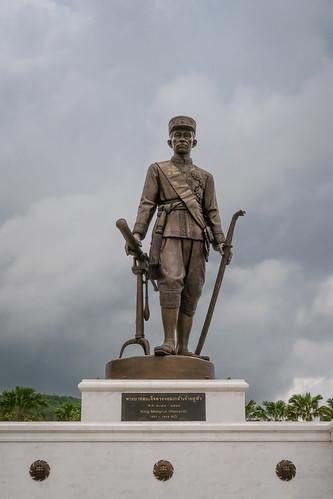 King Mongkut, (Rama iV), Rajabhakri Park, Hua Hin, Prachuap Khiri Khan