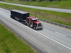 Peterbilt 389 (Northeast Truck Spotting) Tags: peterbilt 389 flatbed trucks