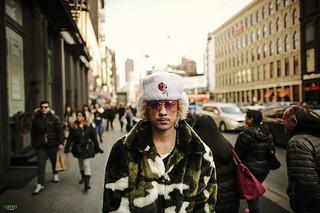 Fashion Man in New Yor City