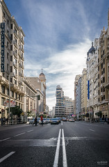 Gran Vía de Madrid (-COULD 2.0) Tags: madrid sigma1928art sonyilce6000 sony alpha6000 city ciudad granvía ngc