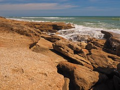 Where the Waves Meet the Rock (Phil's 1stPix) Tags: april2017 atlanticcoast floridastatepark washingtonoaksgardens washingtonoaksgardensstatepark wogsp coquinarockformations atlanticbeach coquinarock washingtonoaksgradens geotag geotagged wildflorida phils1stpix firstpix olympuscamera mzuikoed1442mmf3556iir rockandwater coquinabeach naturalbeach livingbeach flaglercountyflorida floridaatlanticcoast olympusomdem5markii photoscape outdoorfloridarecreation floridabarrierisland waveinmotion wave breakingwave waterandrock wildbeach waveandrock limestonebeach