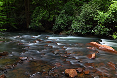 Decker's Creek (ashockenberry) Tags: creek nature river mountains stream rocks green forest west virginia flow deckers