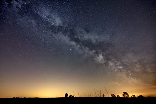 Rising Milky Way