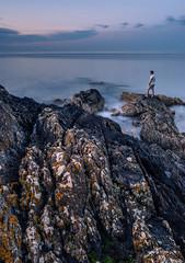 DSC_9058 (Daniel Matt .) Tags: sunset aroundtheworld sunsetcolours sunsetsandsunrise nikon seascape seashore ireland