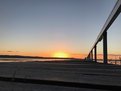 Long Jetty Sunset (Ian Rimmer) Tags: longjetty nsw centralcoast sunset iphone7